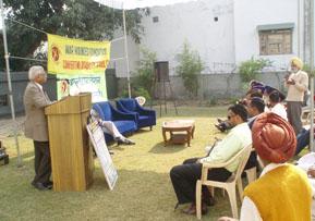 Rally at Hoshiarpur