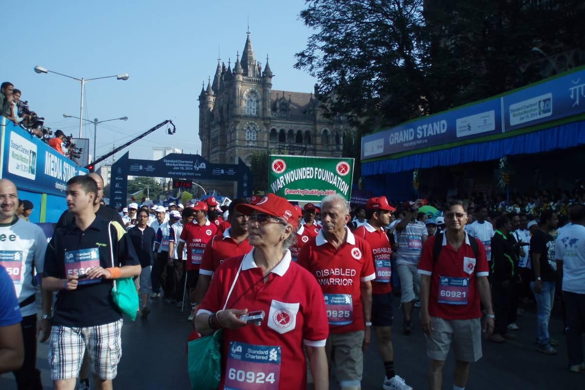 Mumbai Marathon 2014